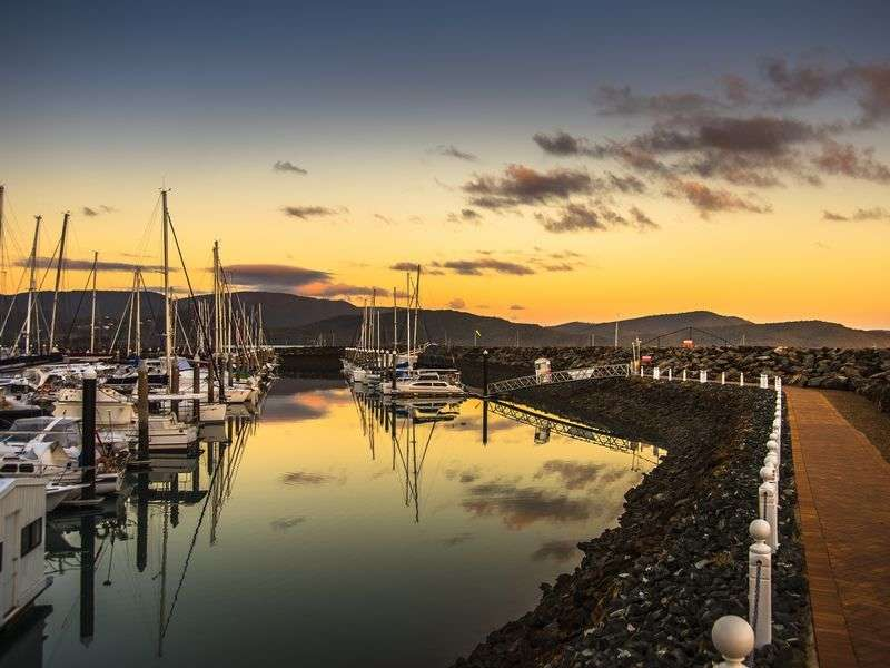 Port in Airlie Beach