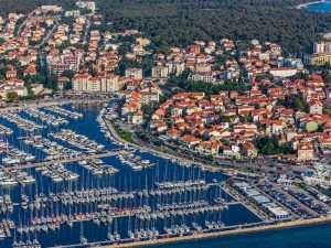 Port in Biograd na Moru