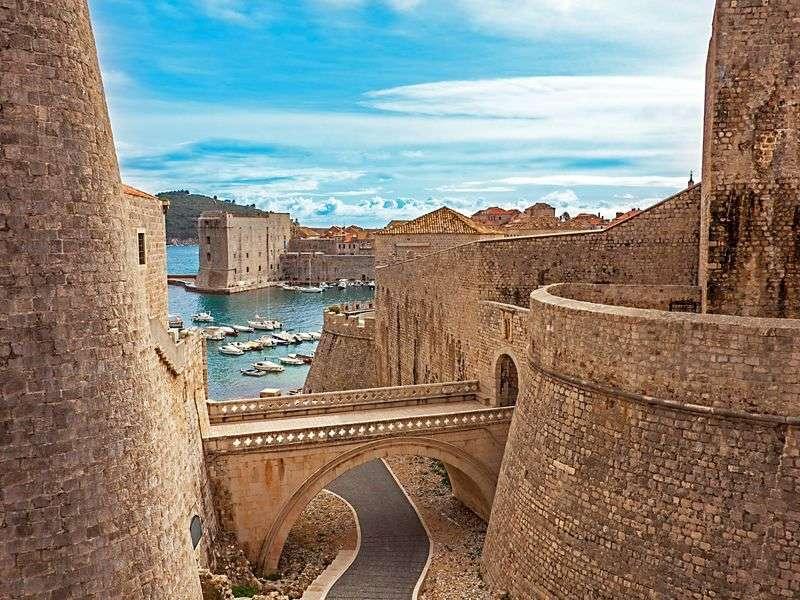 ports and islands in Dalmatia