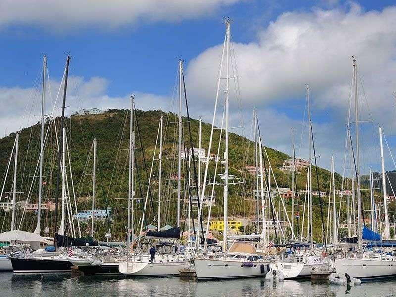 Port in Nanny Cay