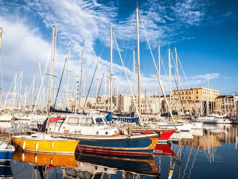 Port in Palermo