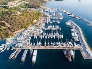 Port in Portisco