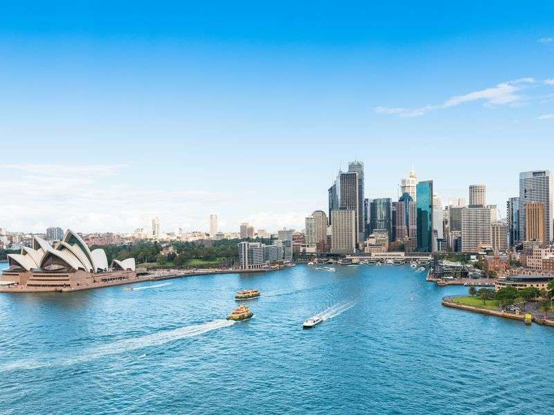 Port in Sydney