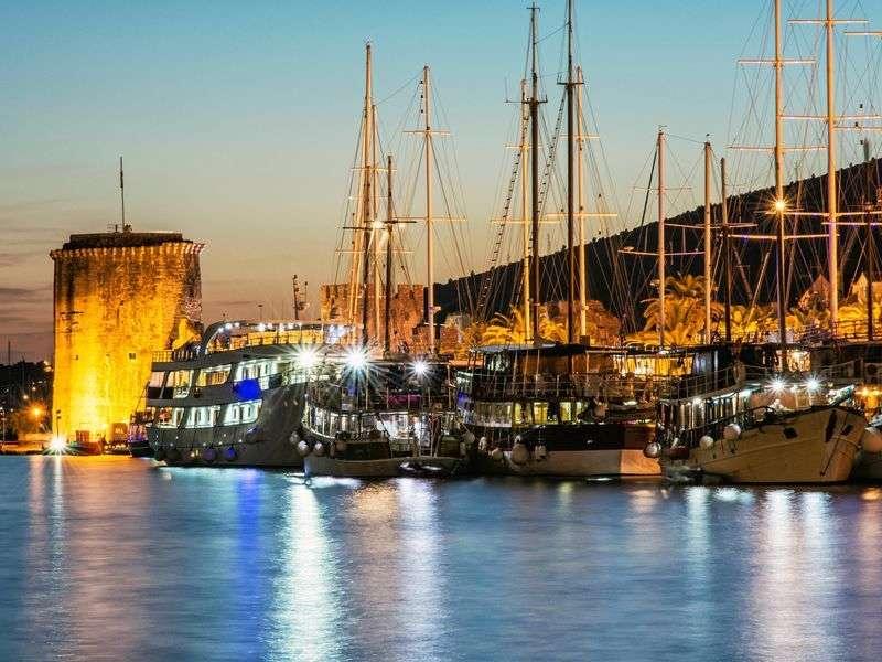 Port in Trogir