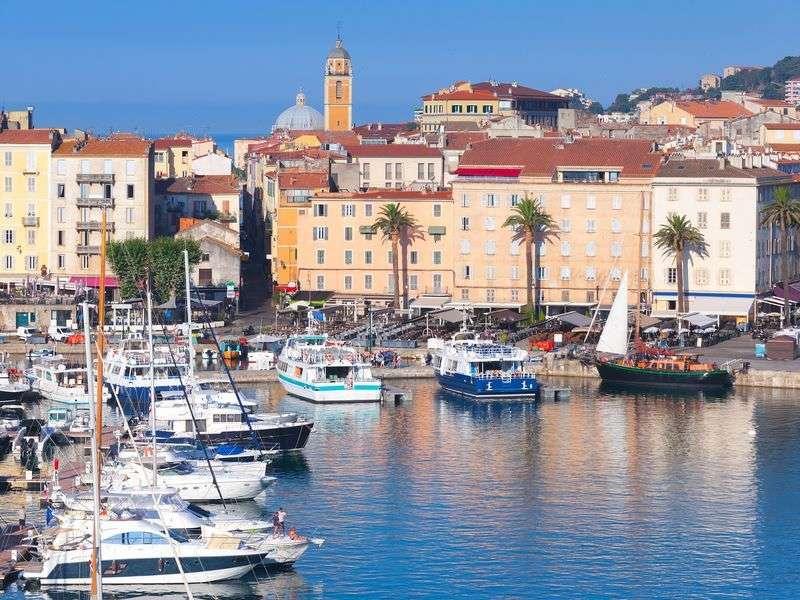 Sail in Ajaccio
