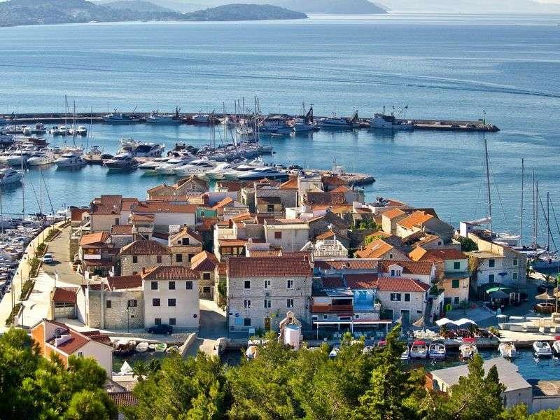 ports and islands in Sibenik