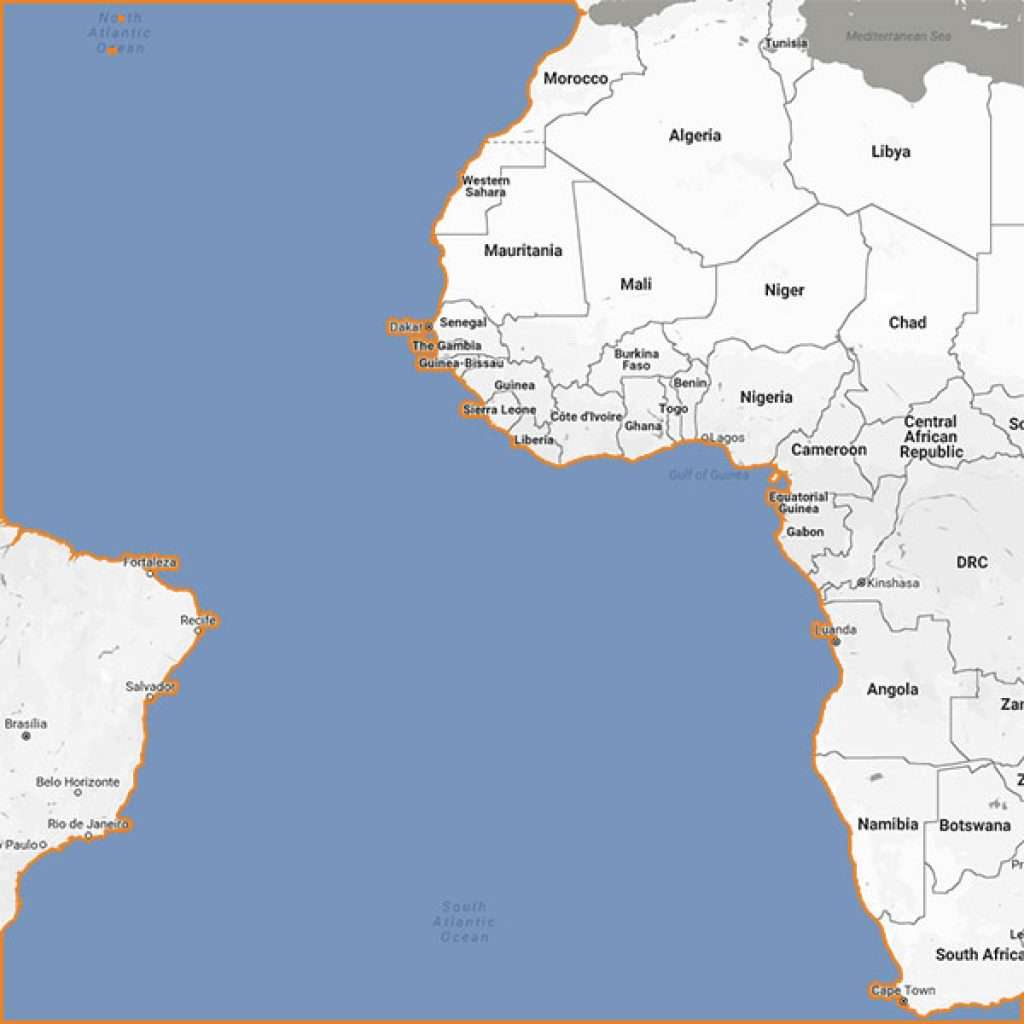 Yacht charter West Africa
