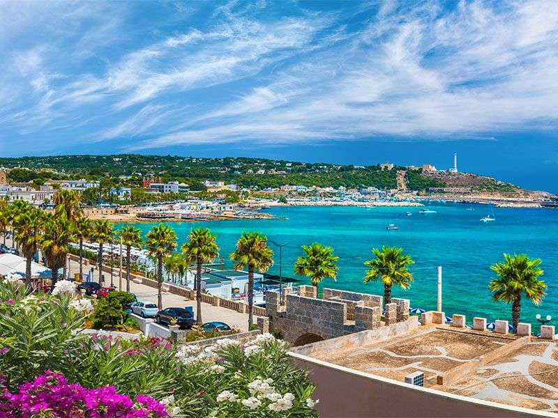 Yacht vacation in Leuca