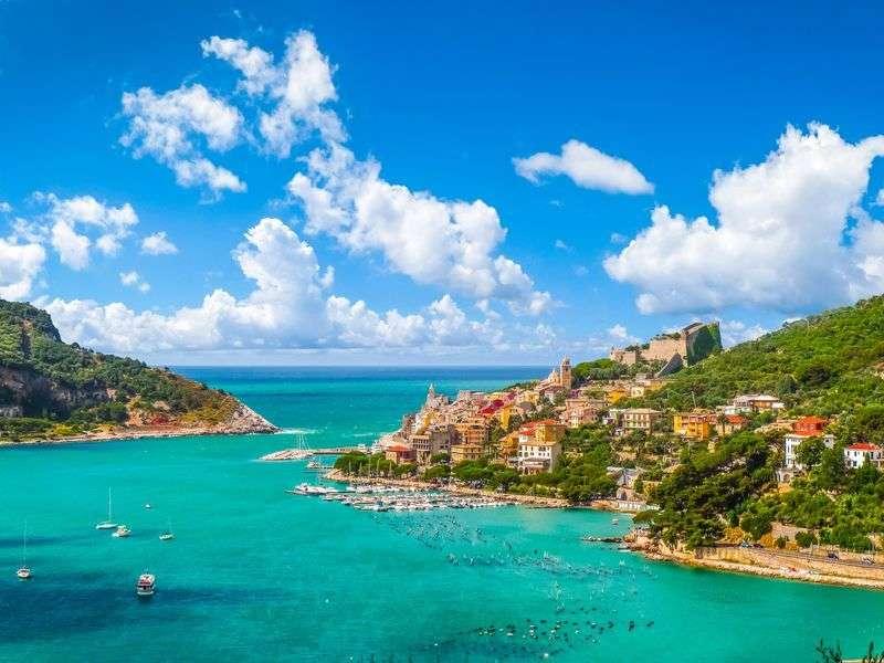 boating in Liguria