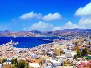 Yacht week in Syros