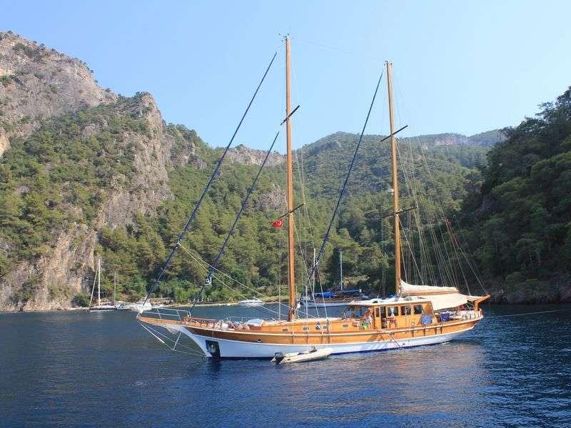 Boat in Fethiye