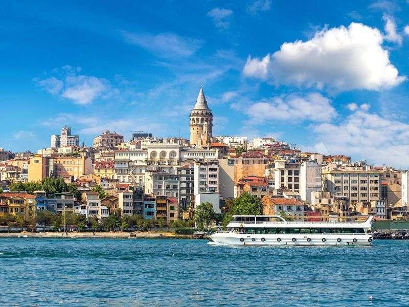 Boat in Istanbul