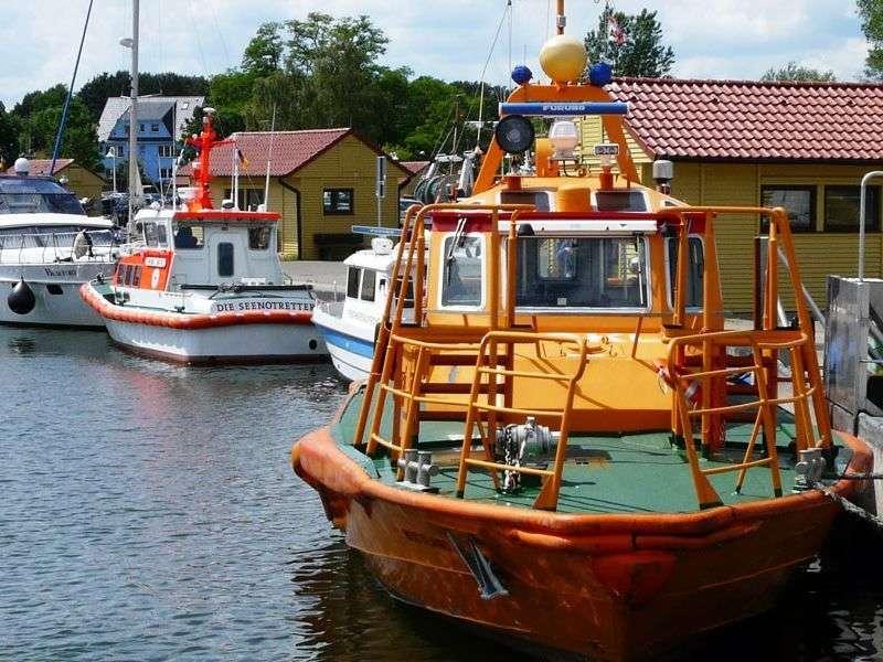 Boating in Kröslin