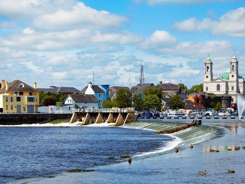 Boats in Athlone