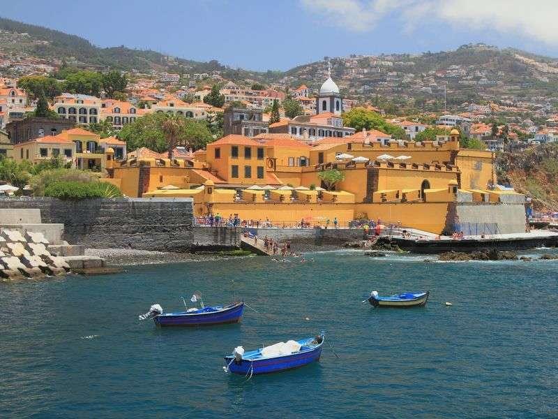 Boats in Funchal