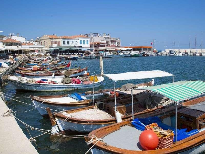 Boats in Izmir