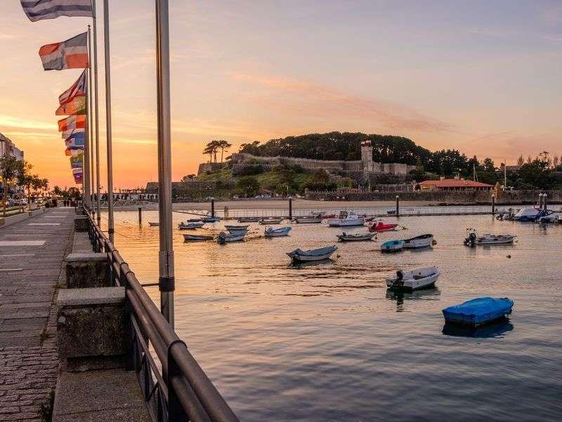 Boats in Pontevedra