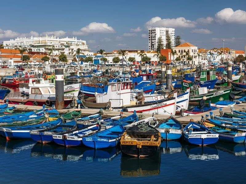 Boats in Setubal