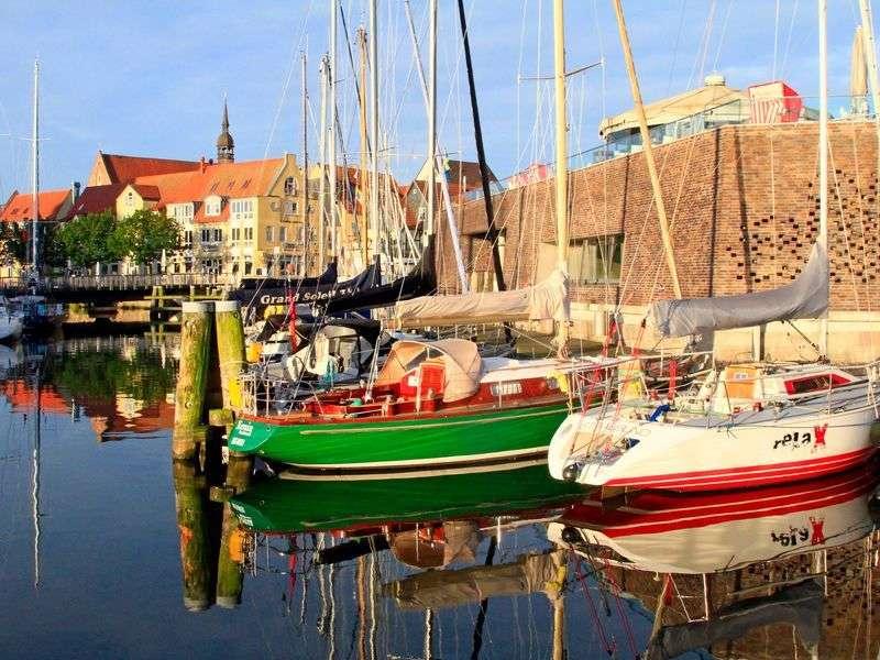 Boats in Stralsund