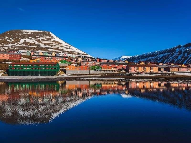 Coast of Longyearbyen