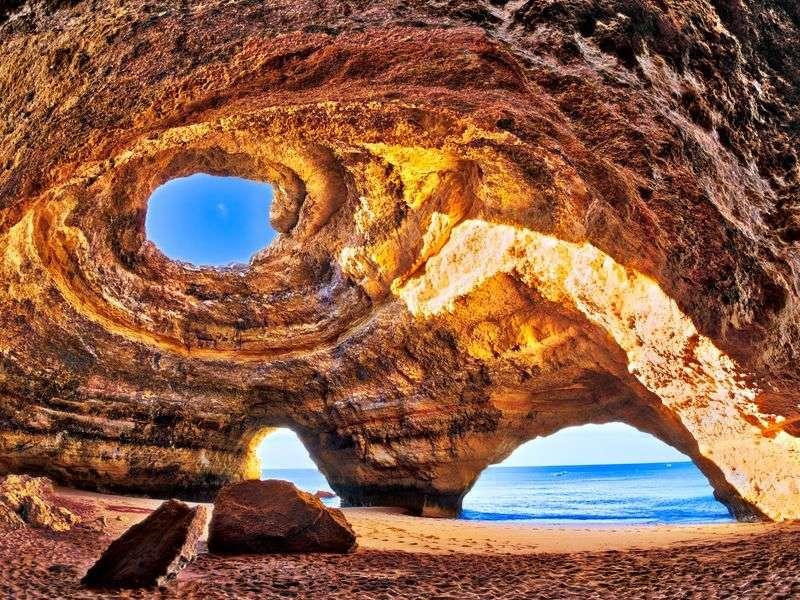Coast of Portimao