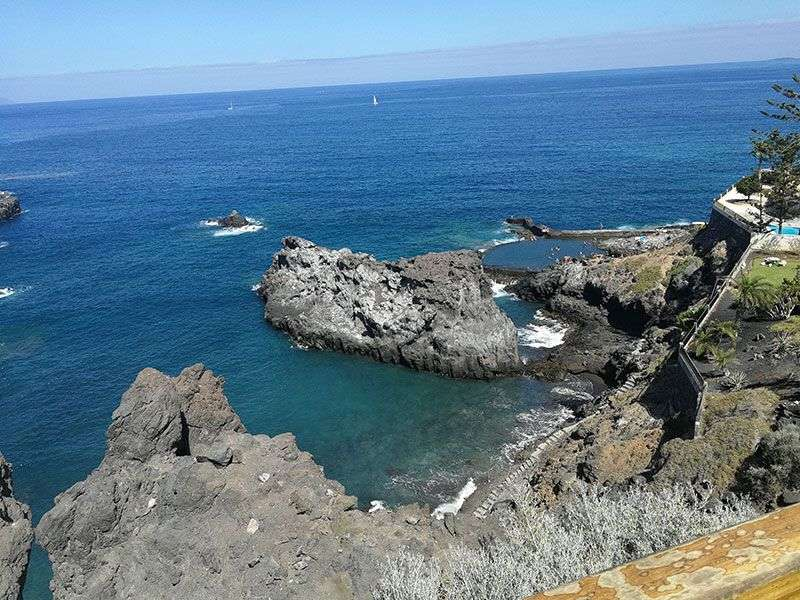 Coast of Santa Cruz de Tenerife