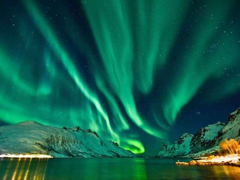 Coast of Tromso