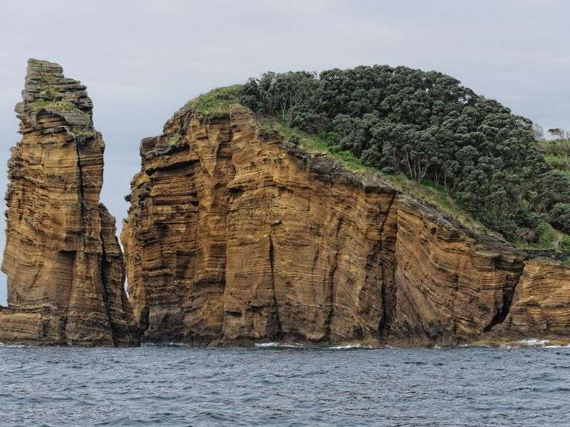 Coast of Vila Franca do Campo