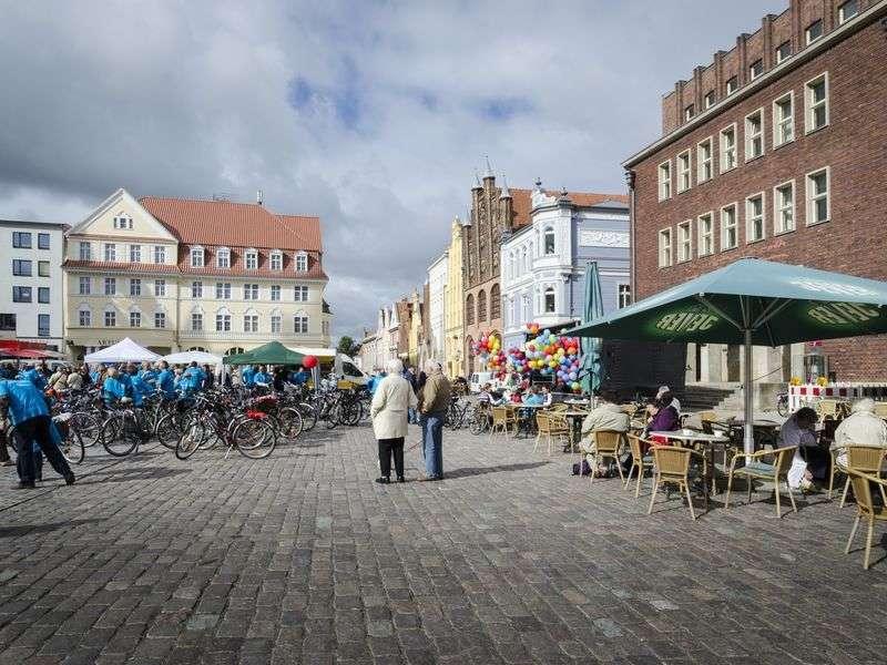 Culture sailing in Stralsund