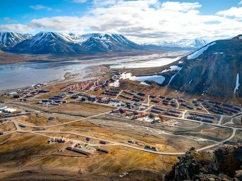 Longyearbyen bay