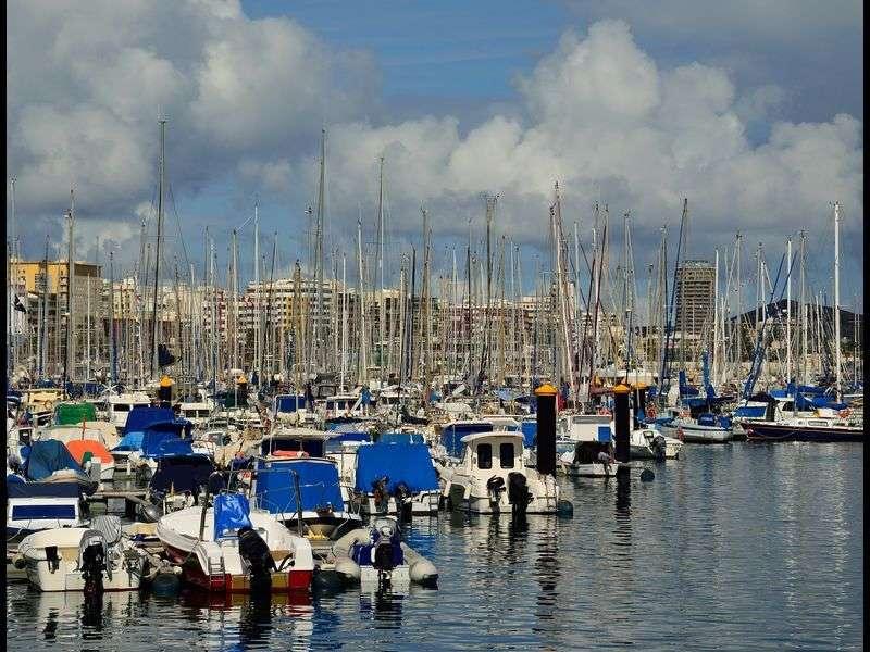 Marina in Las Palmas