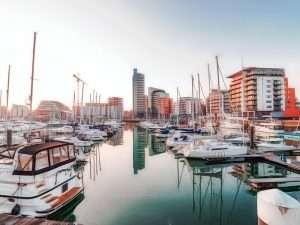 Marina in Southampton