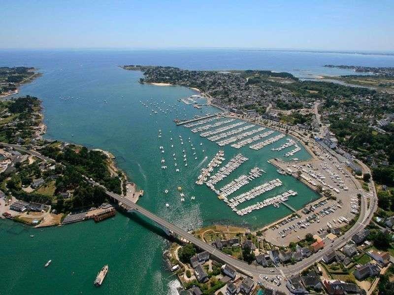 Port in La Trinité-sur-Mer