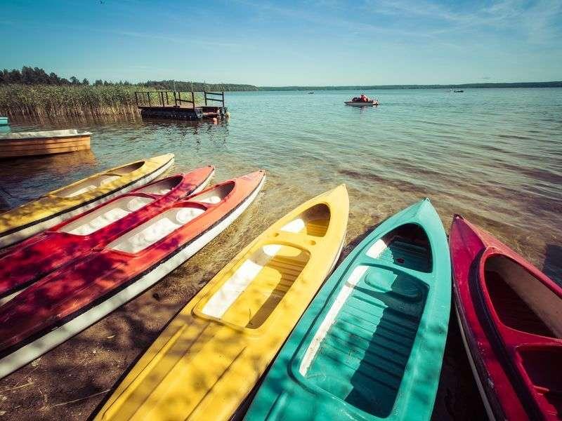 Boats in Wilkasy
