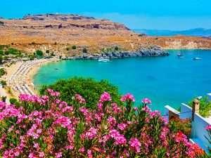 Beaches in Mediterranean