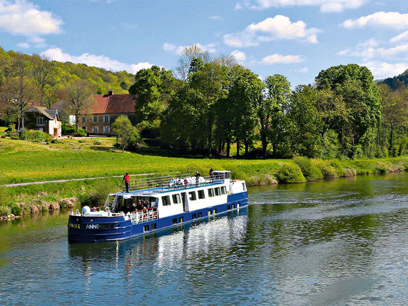 Canal Boat Hire France
