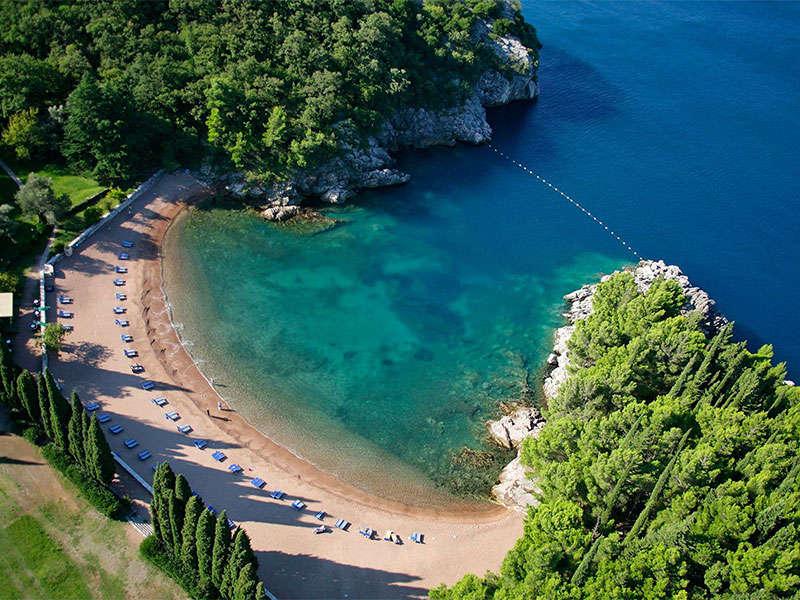 beaches in Montenegro