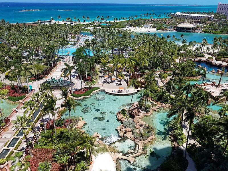 aquaventure water park a Bahamákon