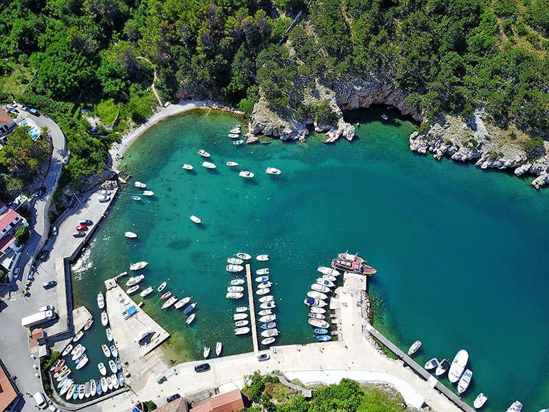 ports and islands in Croatia