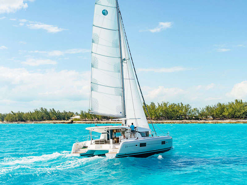 Catamaran yacht rental