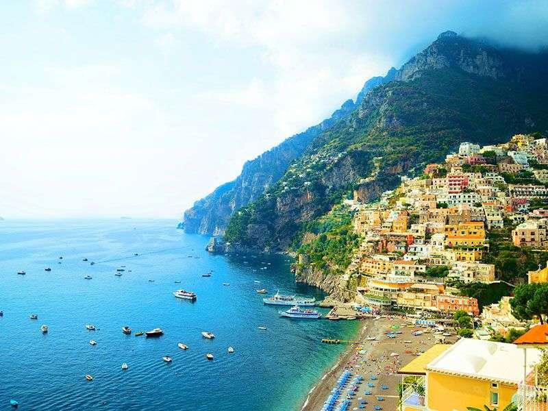 bay in Amalfi Coast