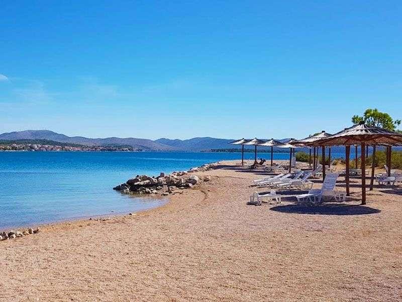 beaches in Sibenik