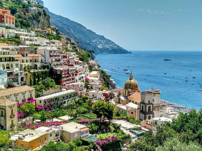 Amalfi Coast sailing