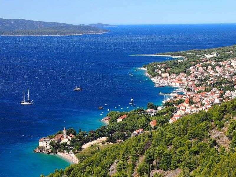 bay in Dalmatia