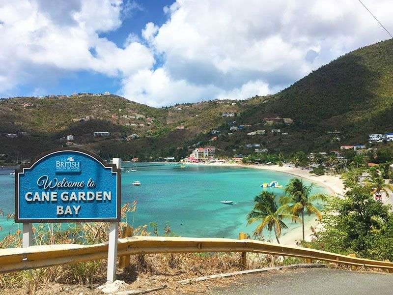 Coasts and islands in the BVI