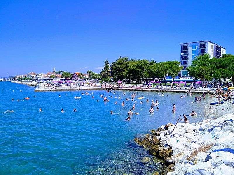 beaches in Biograd na Moru