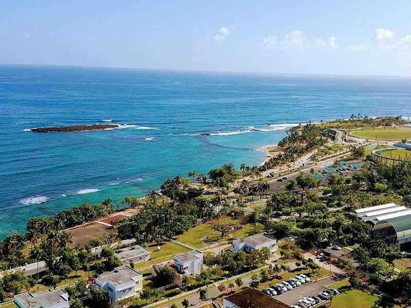 Coasts and bays in Puerto Rico