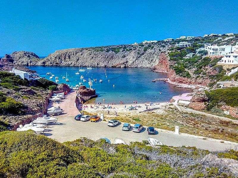 beaches in Ciutadella