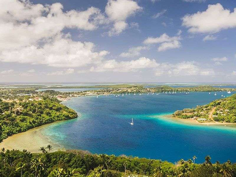 Sailing In Tonga