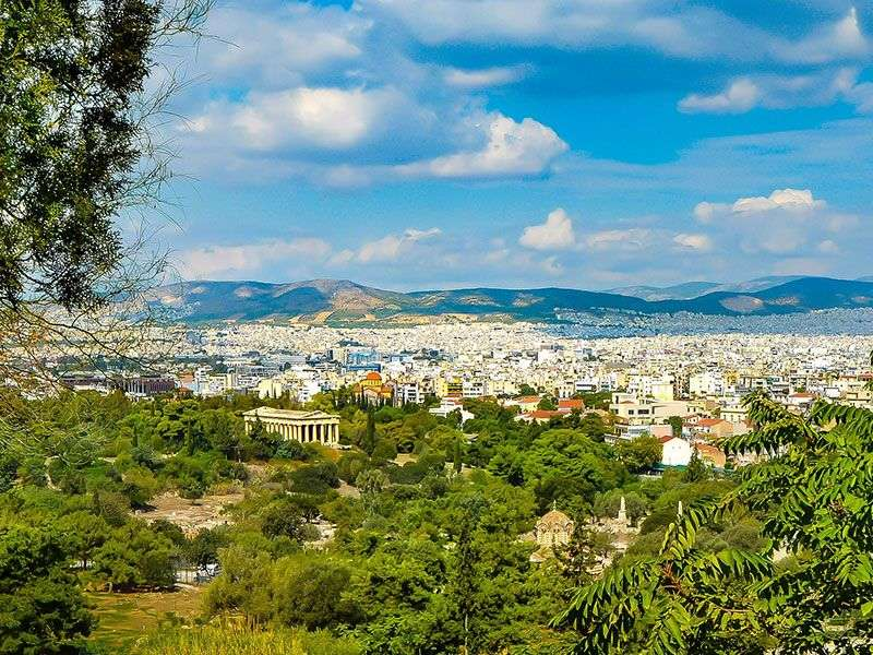 Sailing In Athens